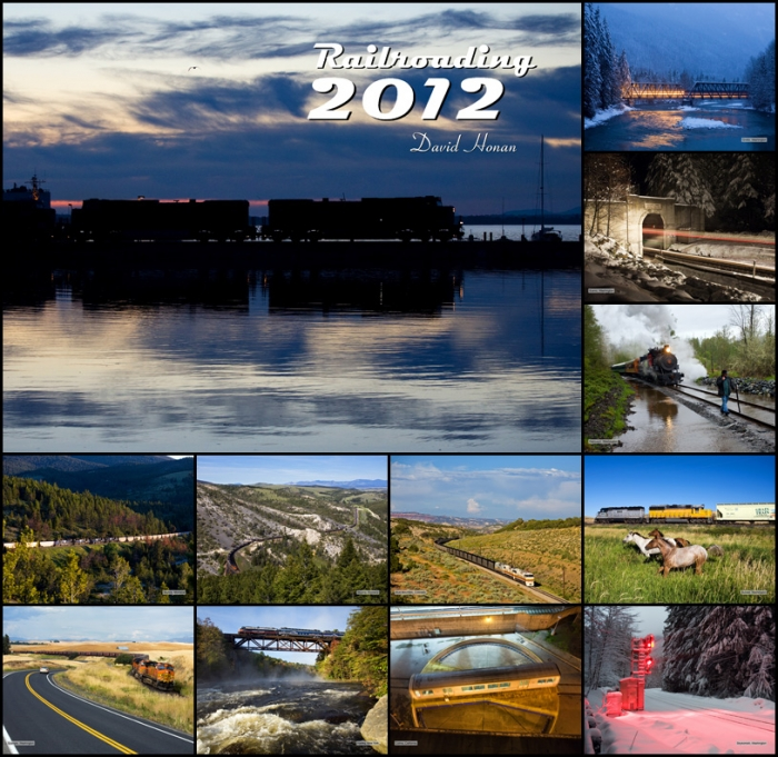 Railroading 2012 Wall Calendar
