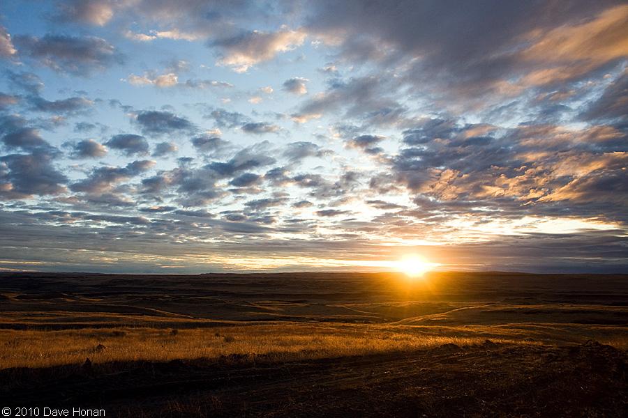 Sunrise - Palouse Falls, WA - 09-01-10