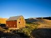 Barn and hills - Wilcox, WA - 08-23-11